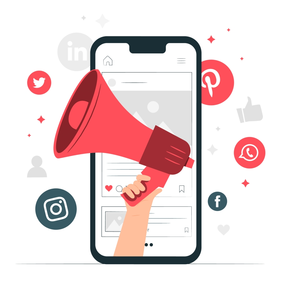 social media marketing photo