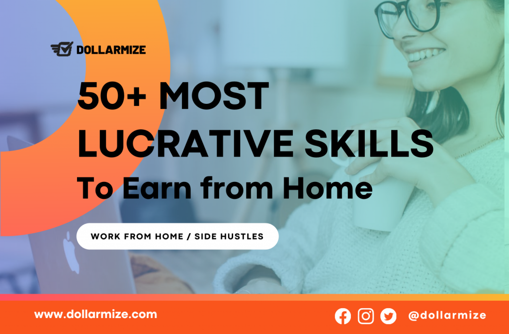 Lucrative work from home skills