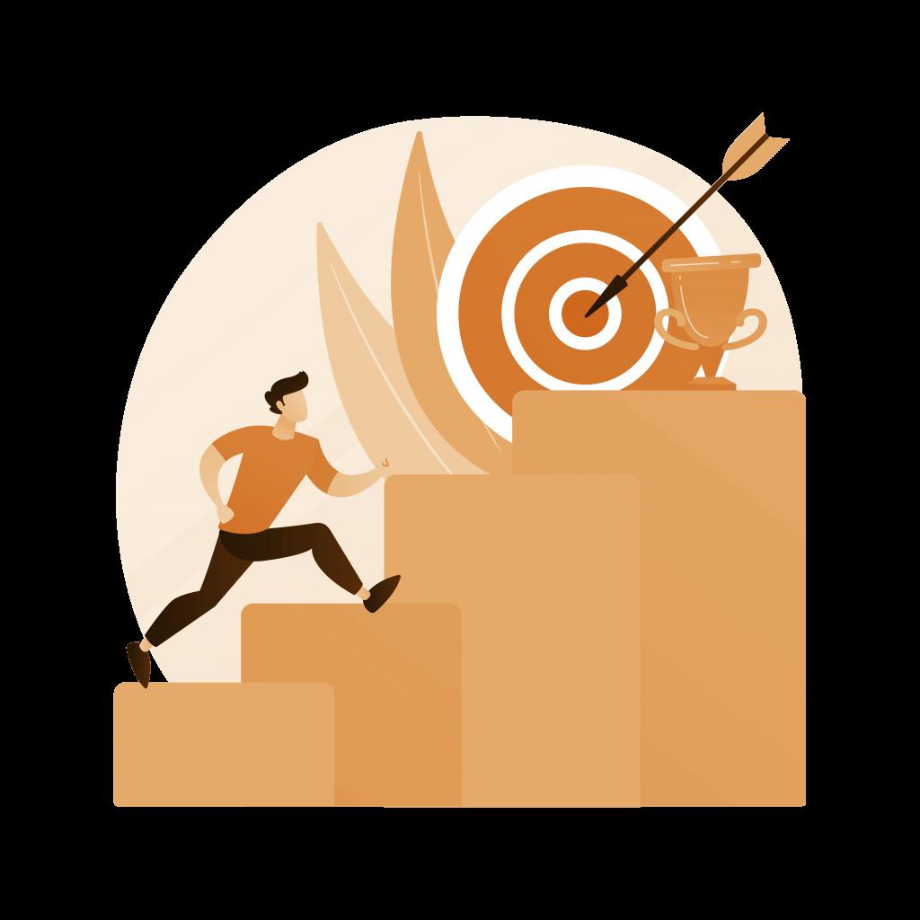 crafting SMART goals illustration